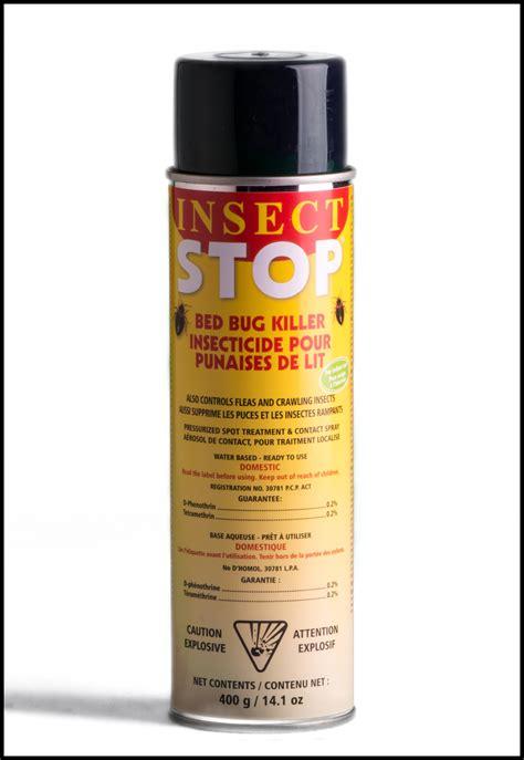 insecticide punaise de lit insecticide insect stop contre les punaises de lit les