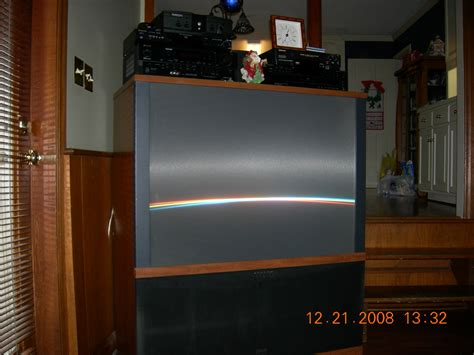 rca plv rear projection tv sound intermittently