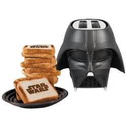 Buy Toaster Wars Darth Vader Cool Wall Toaster 2 Slice Black