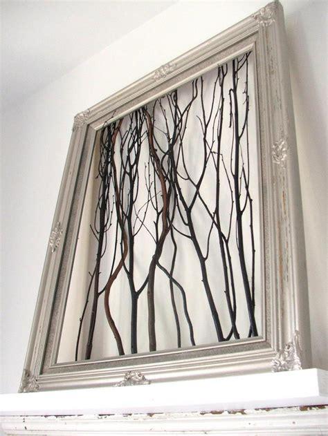 Wood Frame Poster Hiasan Dinding 27 bikin hiasan dinding dari ranting yang dibingkai rooang