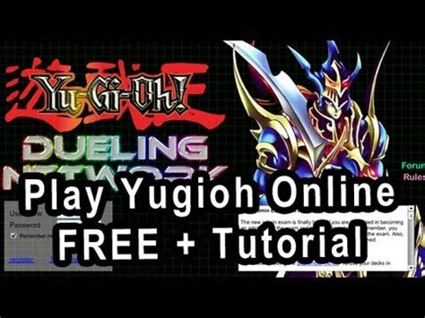 tutorial yugioh online how to play yugioh online free welcome to dueling network