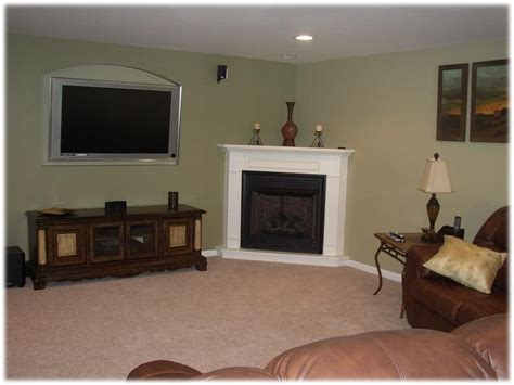 Fireplace Restoration Ideas by Small Living Room With Corner Fireplace