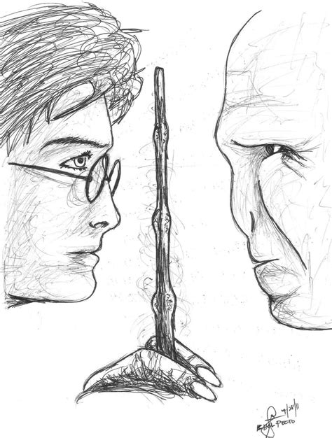 Harry Potter and Voldemort by stuffy106 on DeviantArt