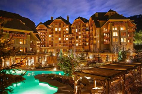 best hotel in whistler the top five luxury hotels in whistler canada