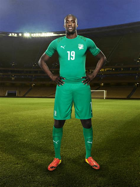 Cote D Ivoire Calendã 2018 Ivory Coast 2014 World Cup Home And Away Kits Released