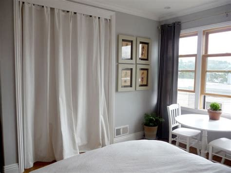 using curtains for closet doors 1000 ideas about closet door curtains on pinterest