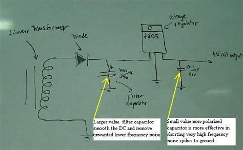 capacitor noise filter circuit filter capacitor function