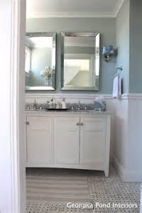 Cottage Style Bathroom Vanity by Hamptons Style Home Tour
