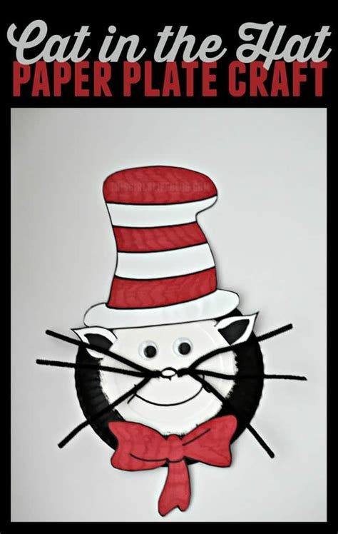 Cat In The Hat Paper Plate Craft - cat in the hat paper plate craft this s