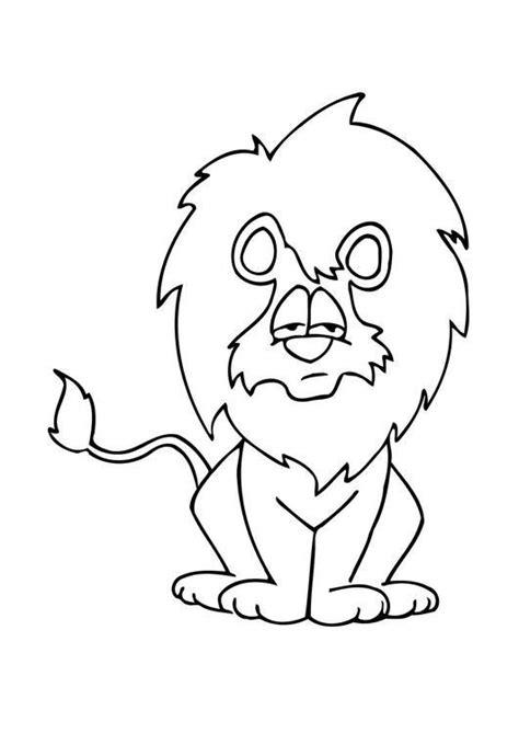 imagenes para dibujar un leon dibujo para colorear le 243 n 08