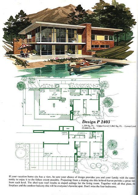 Mid Century House Plans by The 25 Best Ideas About Modern House Plans On Pinterest