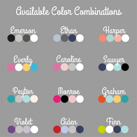 complimentary colors for grey minky blanket name only color combination with grey