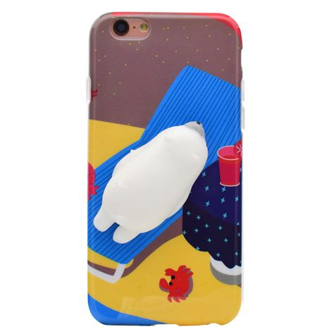 squishy phone squishy 3d soft silicone cat tpu phone