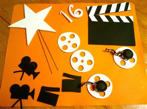 themes in film making sweet 16 hollywood theme cake decorations cakecentral com