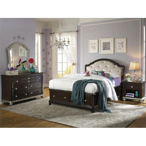 Glam Bedroom Set by Glam Storage Bedroom Set Samuel Furniture