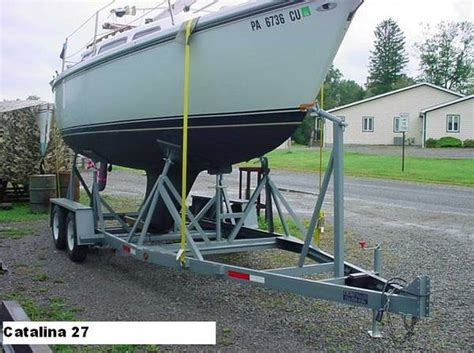 used boat cradles for sale sailboat trailers cradles boatnation