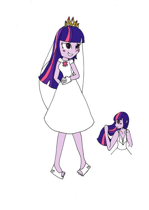 Twilight Wedding Concept by Twilight Sparkle Wedding Dress By Gratzalia On Deviantart