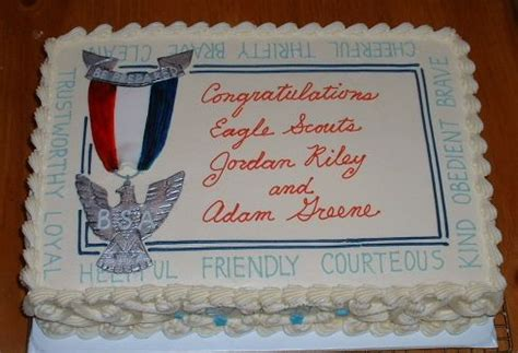 Eagle Scout Cake Decorations by Eagle Scout Cake 001 Flickr Photo