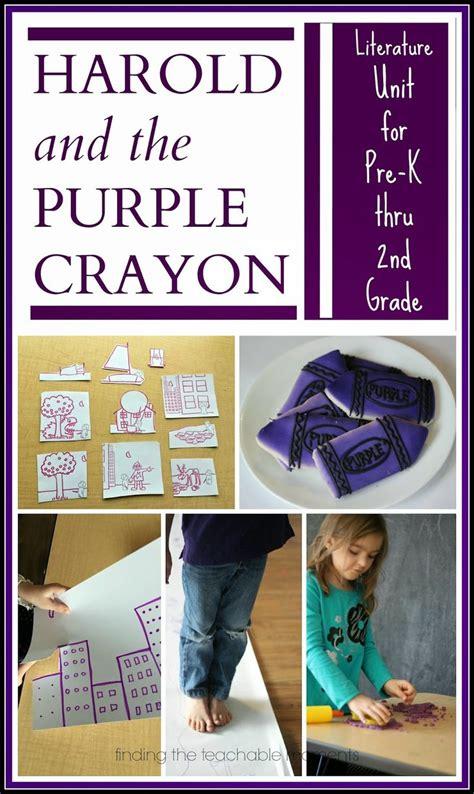 libro harold and the purple mejores 1924 im 225 genes de preschool and kindergarten community en preescolar