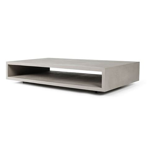 concrete and metal coffee table 1000 ideas about concrete coffee table on