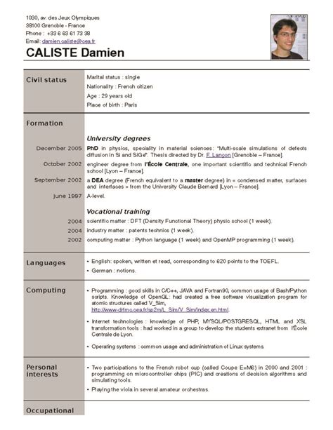 10 best 10 most successful resume format 2015 samples images on