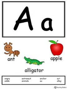 words starting with letter a myteachingstation