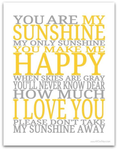 you are my sunshine lyrics printout midi and video 12 best images about joey s guest room ideas on pinterest