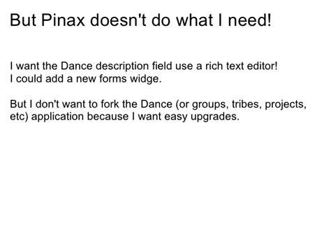 django newforms tutorial pinax tutorial 09 09 09