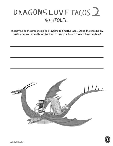 dragons love tacos coloring page 110 best printable activities images on pinterest fun