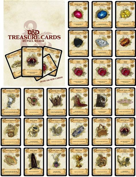 dungeons and dragons pdf item card templates dungeons dragons aid treasure cards d d