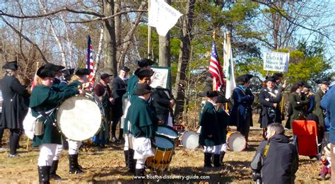 patriots day schedule  reenactments parades