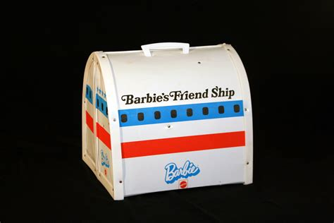 Vintage 1972 Barbie Friend Ship United Airplane Play Set by