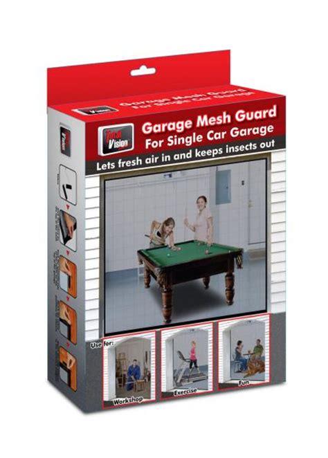 garage door mesh screen garage door mesh screen door cover new 8 x 7 fits most