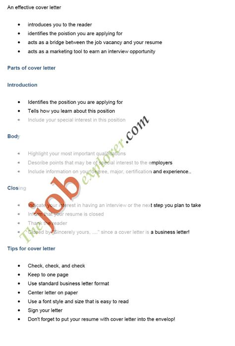 9 basics jobs cover letters bussines proposal 2017