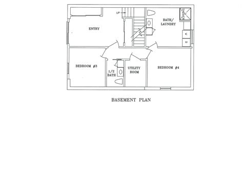 one story house plans with walkout basement prissy design walkout basement floor plans 1 story house