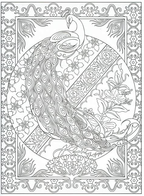 coloring pages for adults peacock 30 peacock coloring pages coloringstar