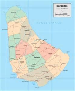 Barbados World Map by Barbados Map Map Of Barbados Barbados Map In English