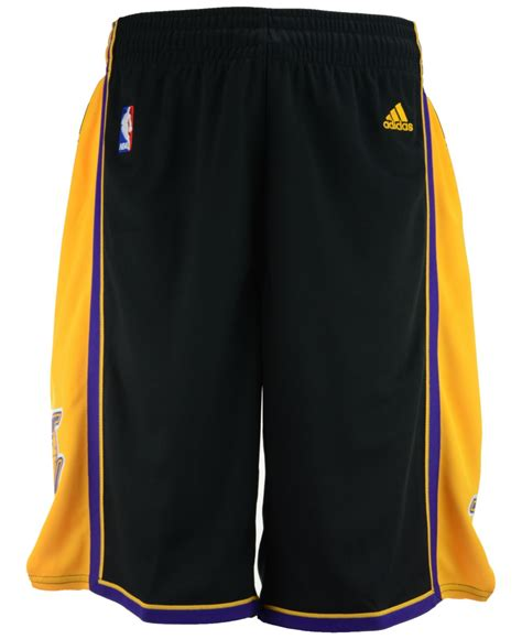 Dress Adidas Los lyst adidas s los angeles lakers pride swingman shorts in yellow for