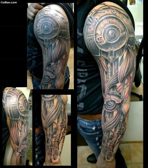 mechanical tattoos for men mechanical arm designs www pixshark images