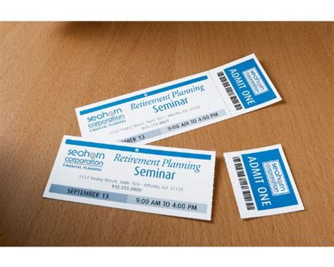 avery printable tickets template avery tickets with tear away stubs 1 75 inches x 5 5