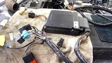 rover 3 9 v8 hotwire efi cpu wiring o2 sensors distributor