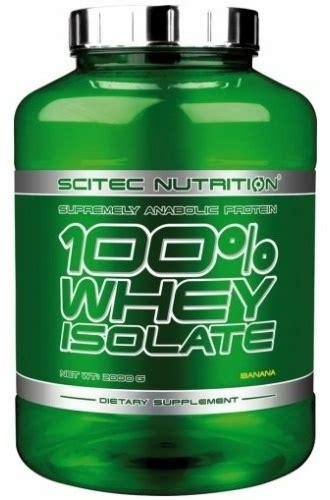 Whey Scitec scitec nutrition 100 whey isolate