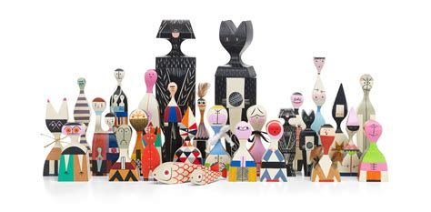 Wooden Dolls by Vitra Wooden Dolls