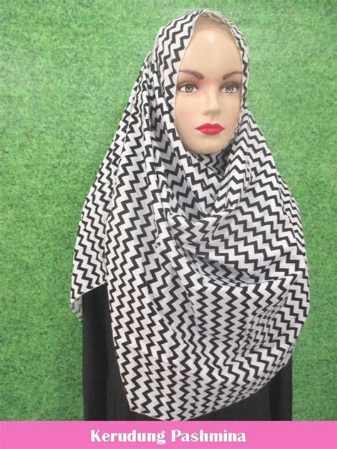 Olive Pashmina Pasmina Jilbab Kerudung Motif Kotak grosir kerudung pashmina