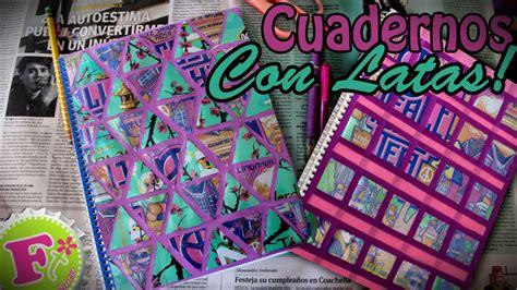como decorar mis hojas de colores decora tus cuadernos con material reciclado floritere