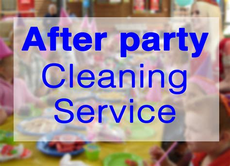 party clean after party cleaning the scottish cleaning company