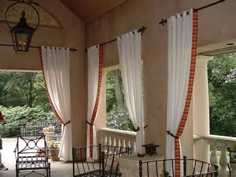 outdoor curtain rods restoration hardware outdoor curtain rods youtube