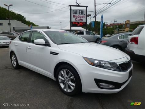 Kia Optima 2012 White 2012 Snow White Pearl Kia Optima Lx 81770478 Gtcarlot