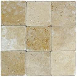 noce tumbled travertine mosaic tiles 4x4 natural stone mosaics