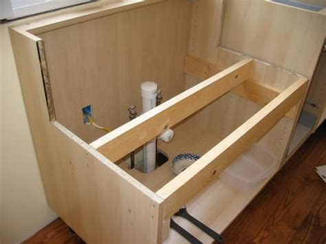 an ikea cabinet work with a non ikea farmhouse sink